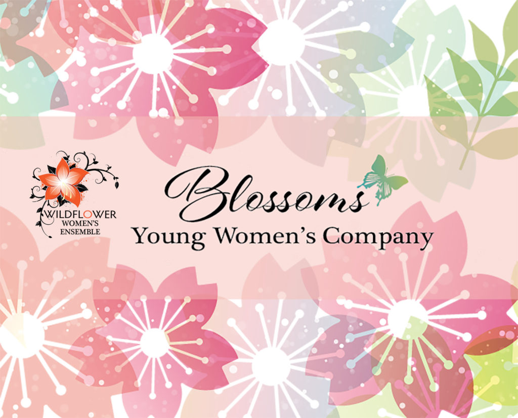 Blossoms Young Women's company logo image with flowers