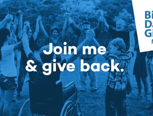 Join me & Give back Big Day of Giving May 6